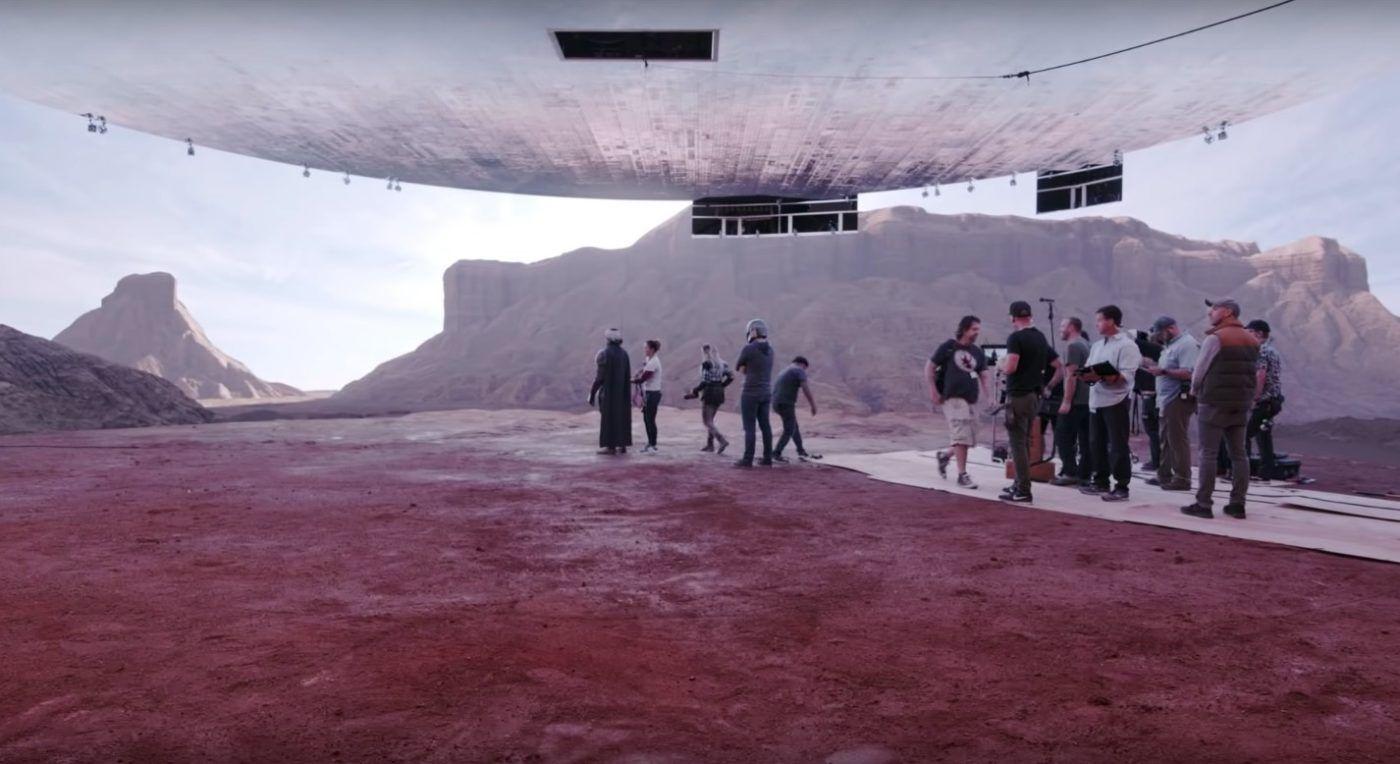 The Mandalorian'ın Efsane Çekim Teknolojisi VIRTUAL Set Nedir? - Sinema Hanedanı