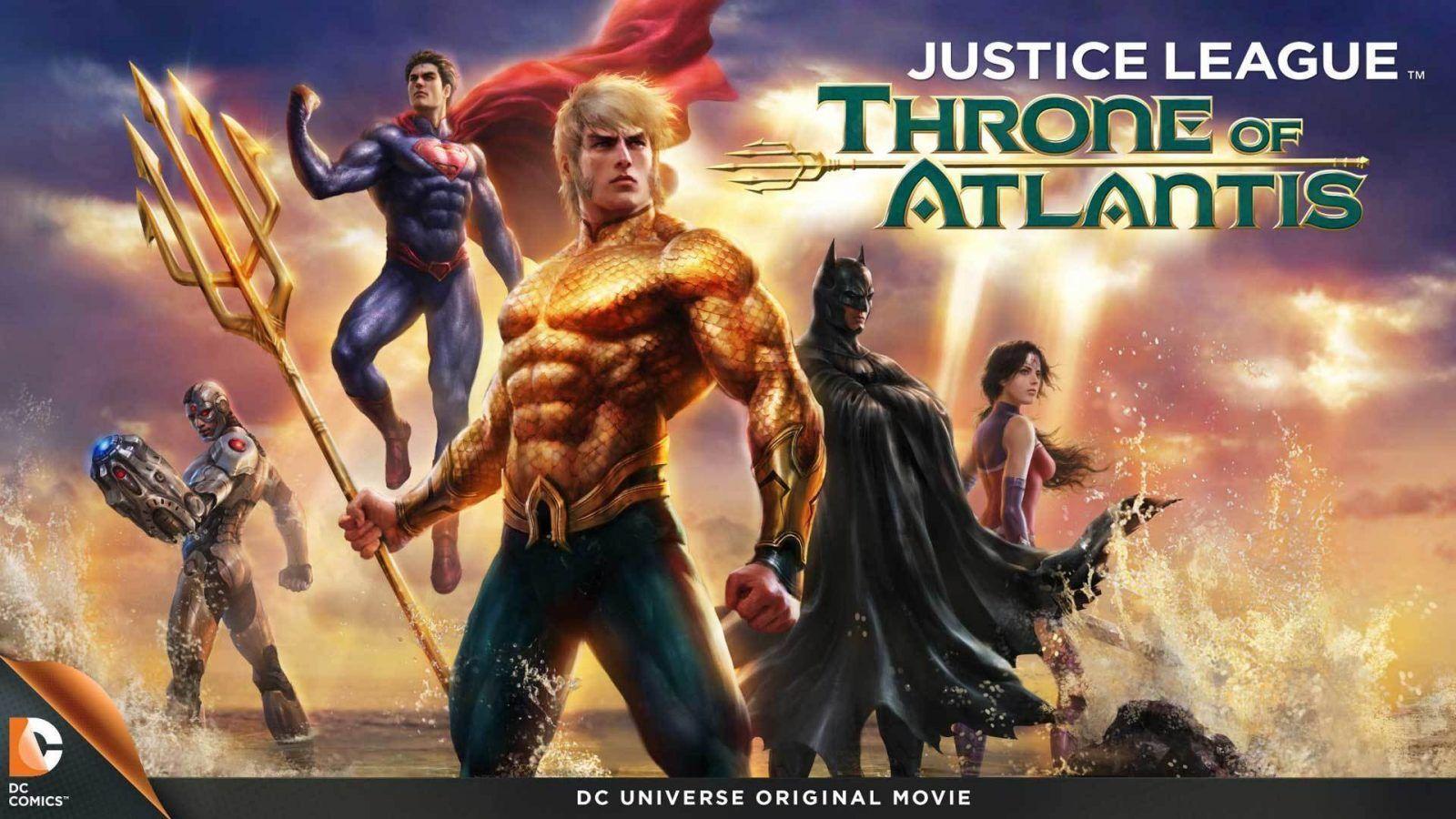 Justice League: Throne of Atlantis İncelemesi - Sinema Hanedanı