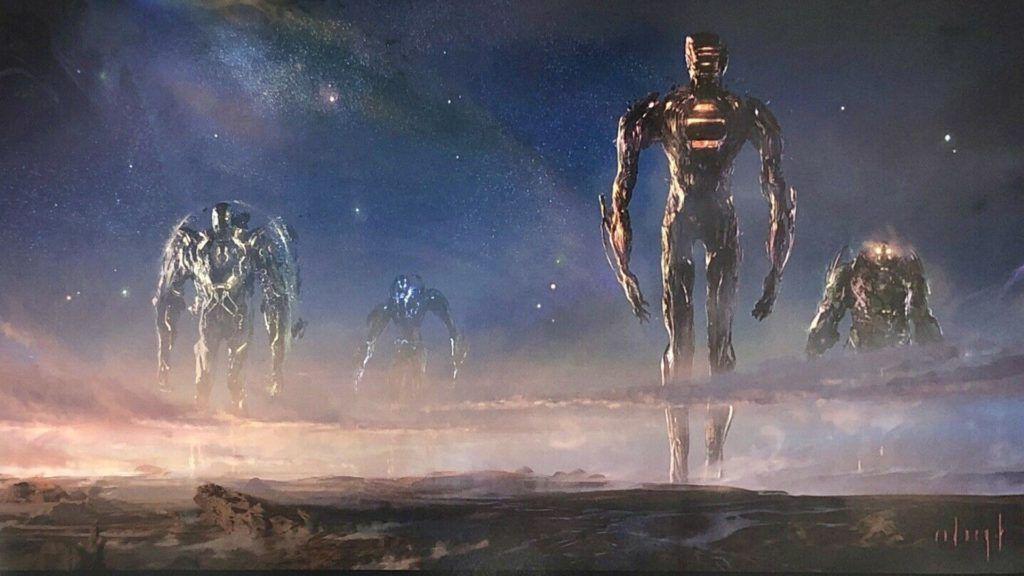Marvel'ın 25. Filmi Eternals Hakkında Bilgilenin - Sinema Hanedanı