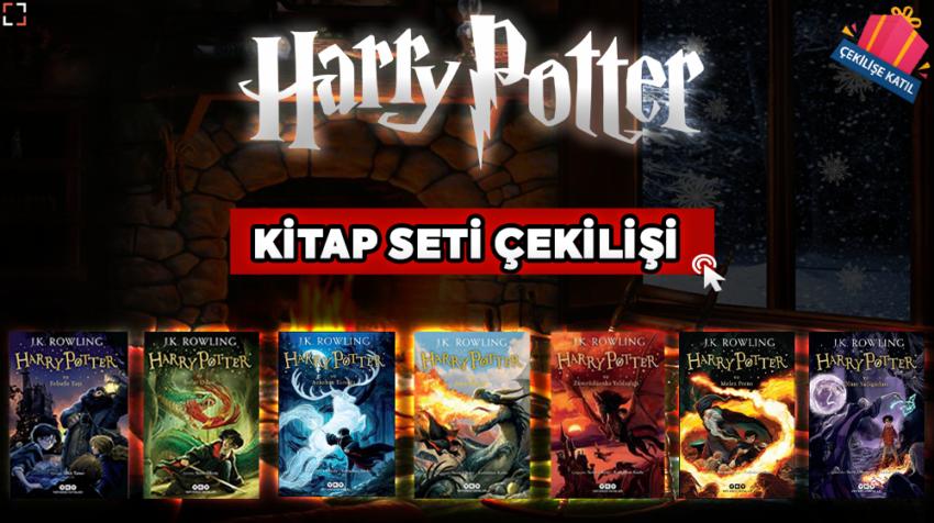 Sinema Hanedanı - Harry Potter Kitap Seti Çekilişi